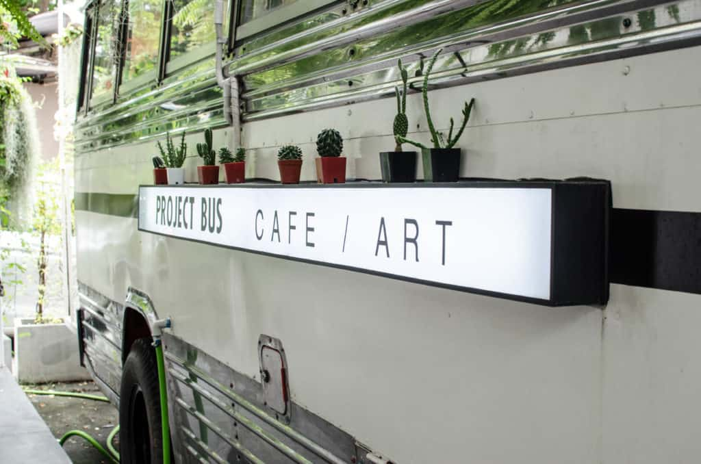 Project Bus Cafe Art