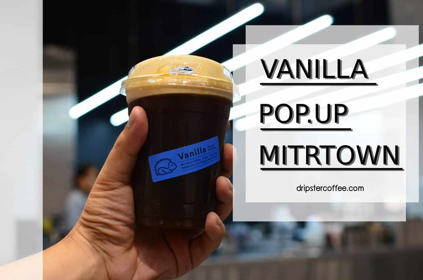 Nitro Cold brew vanilla pop up mitrtown cover