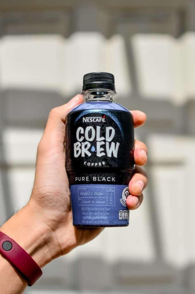 Pure black cold brew nescafe