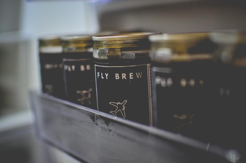 แช่ Fly brew เย็นๆ