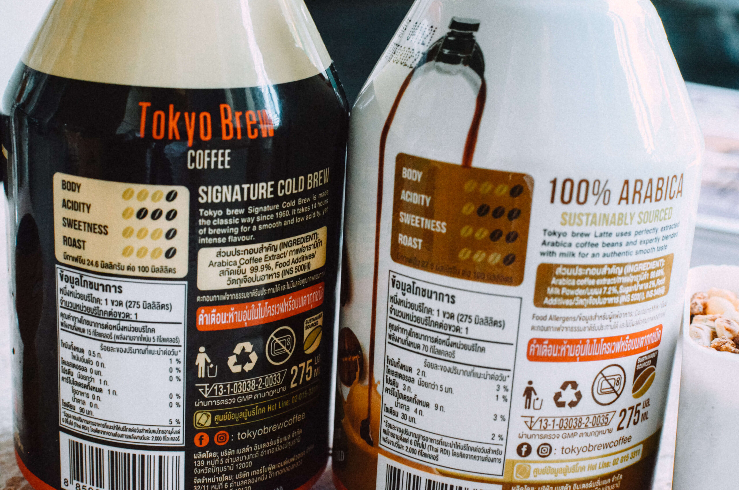 tokyo brew coffee back